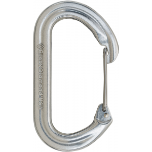 photo: Black Diamond Oval Wire Carabiner non-locking carabiner