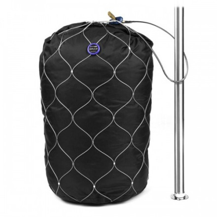 photo: Pacsafe StuffSafe 80L backpack accessory