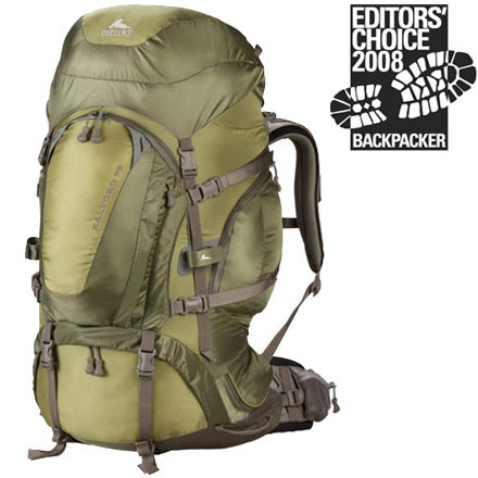 photo: Gregory Baltoro 70 expedition pack (70l+)