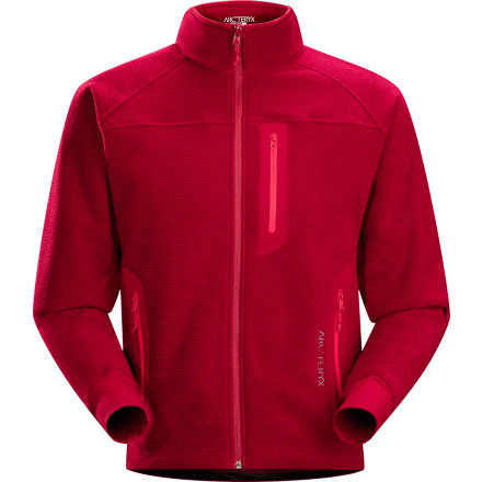 photo: Arc'teryx Strato Jacket fleece jacket