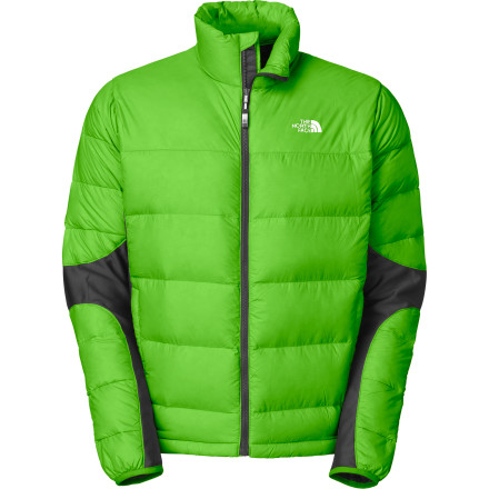 photo: The North Face Crimptastic Hybrid Jacket down insulated jacket