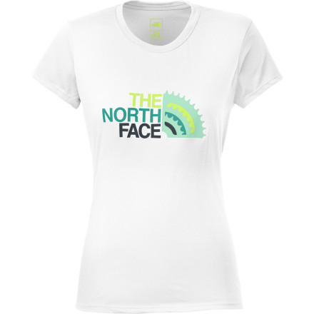 photo: The North Face Women's Chain Ring Tee short sleeve performance top