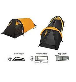 photo: Eureka! Solitaire three-season tent