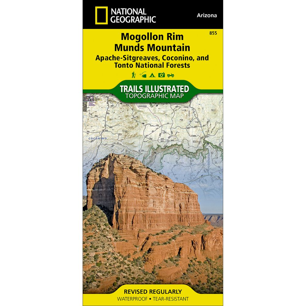 National Geographic Mogollon Rim/Munds Mountain Map