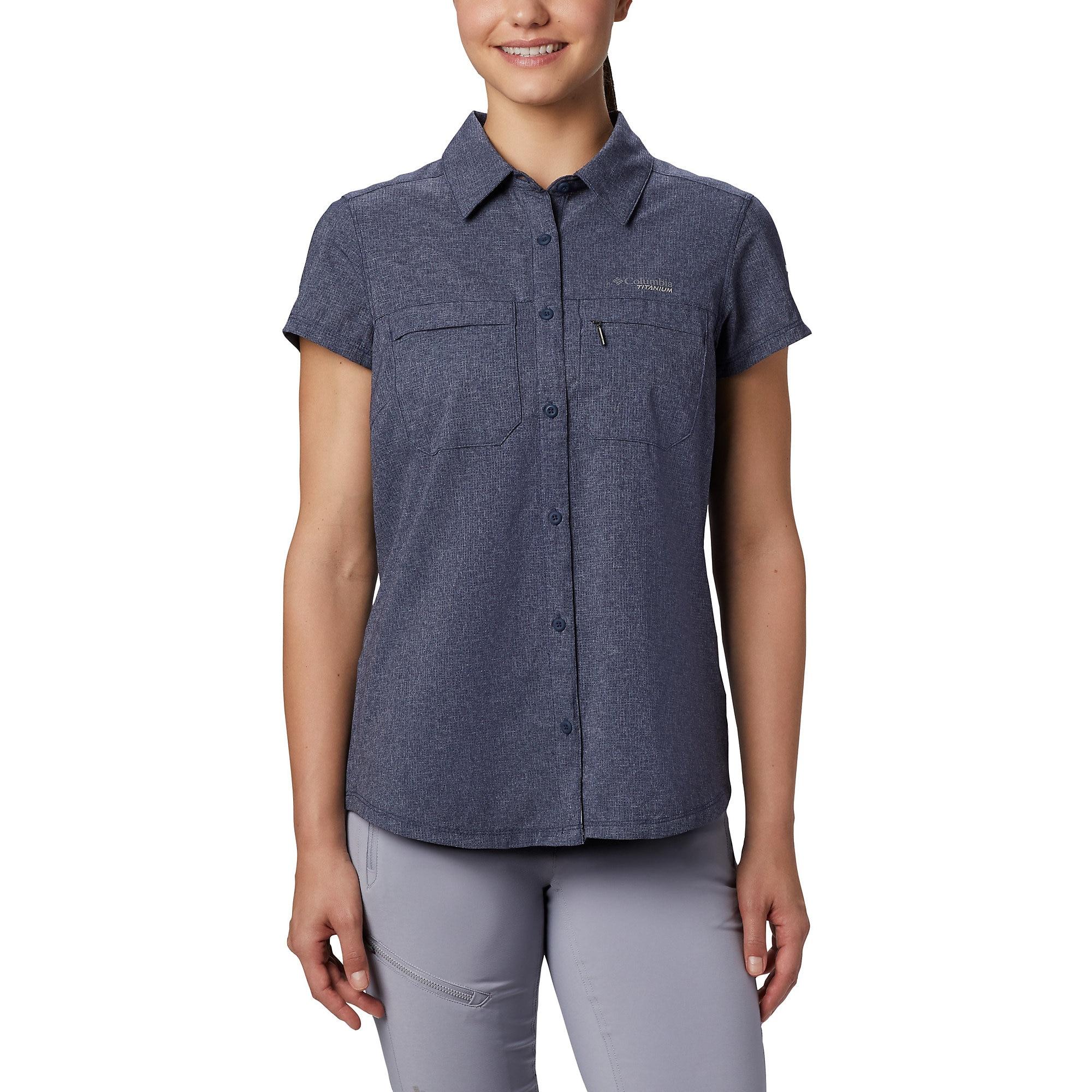 photo: Columbia Women's Irico Short Sleeve Shirt hiking shirt