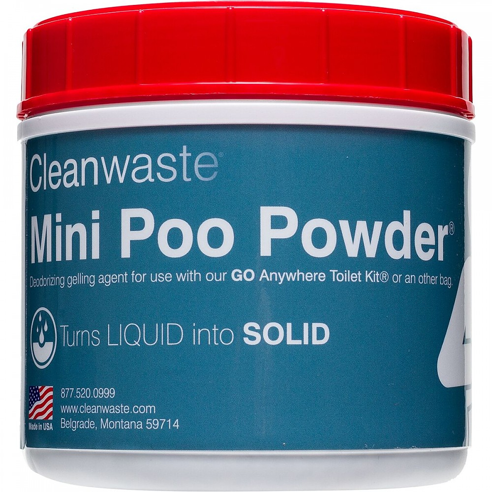 photo: Cleanwaste Poo-Powder Waste Treatment waste and sanitation supply/device