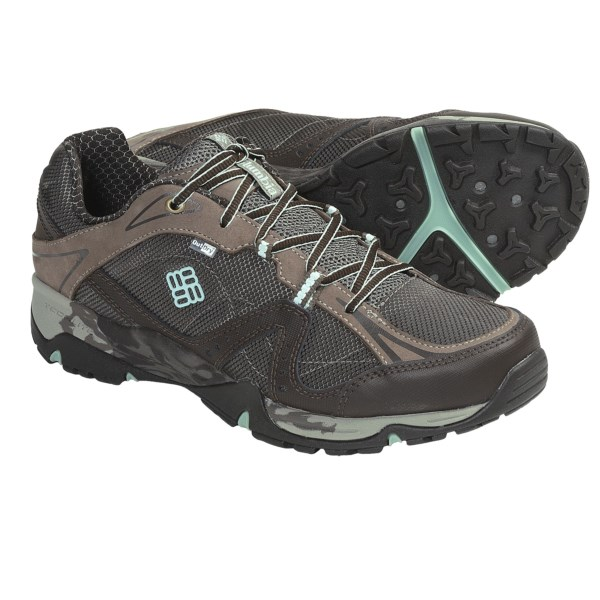 photo: Columbia Sunrise Trail Low OutDry trail shoe