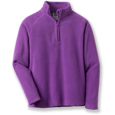REI Expedition MTS Stretch Zip Mock T-Neck