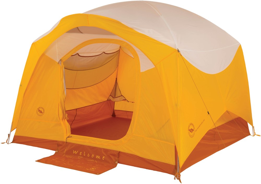 photo: Big Agnes Big House 6 Deluxe three-season tent