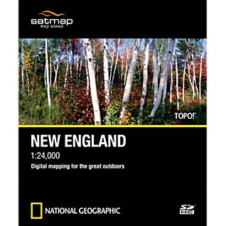 photo: Satmap National Geographic TOPO! New England SD Card us northeast map application