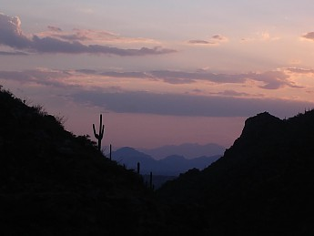 Sunset-and-mountains-SW-from-Bear-Canyon