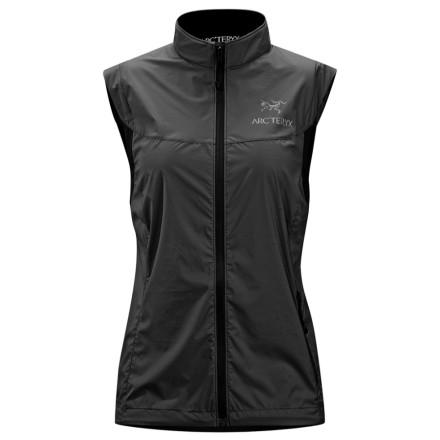 photo: Arc'teryx Women's Celeris Vest wind shell vest