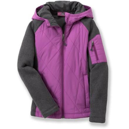 photo: REI Mossyrock Sweater Fleece Jacket synthetic insulated jacket