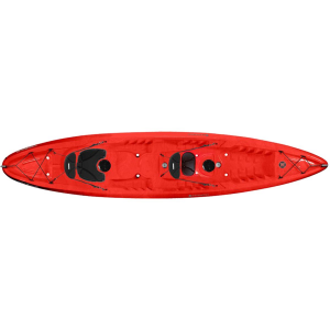 photo: Perception Tribe 13.5 Tandem sit-on-top kayak