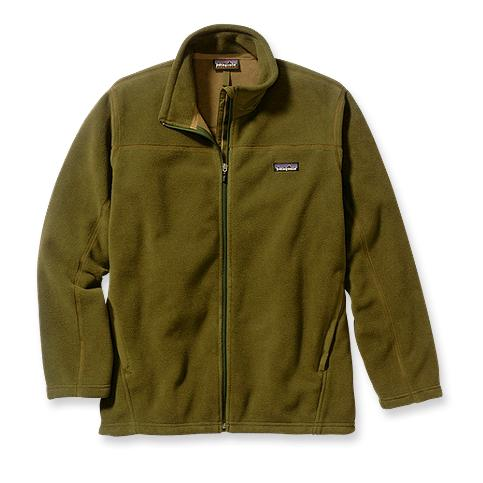 photo: Patagonia Kids' Synchilla Windproof Jacket fleece jacket