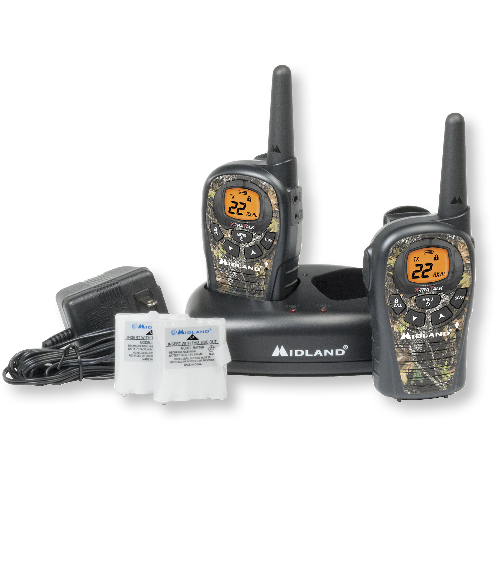 Midland LXT385VP3 FRS/GMRS 2-Way Radios