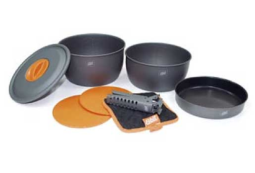 photo: Esbit Cookware Set pot/pan