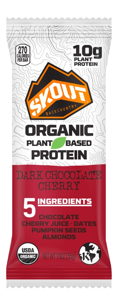 Skout Organic Plant-Based Protein Bar