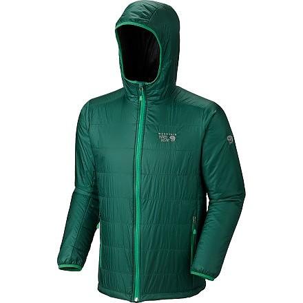 photo: Mountain Hardwear Thermostatic Hooded Jacket synthetic insulated jacket
