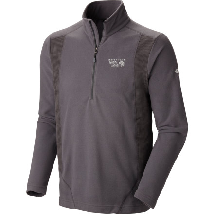 photo: Mountain Hardwear Microchill Tech Zip-T fleece top