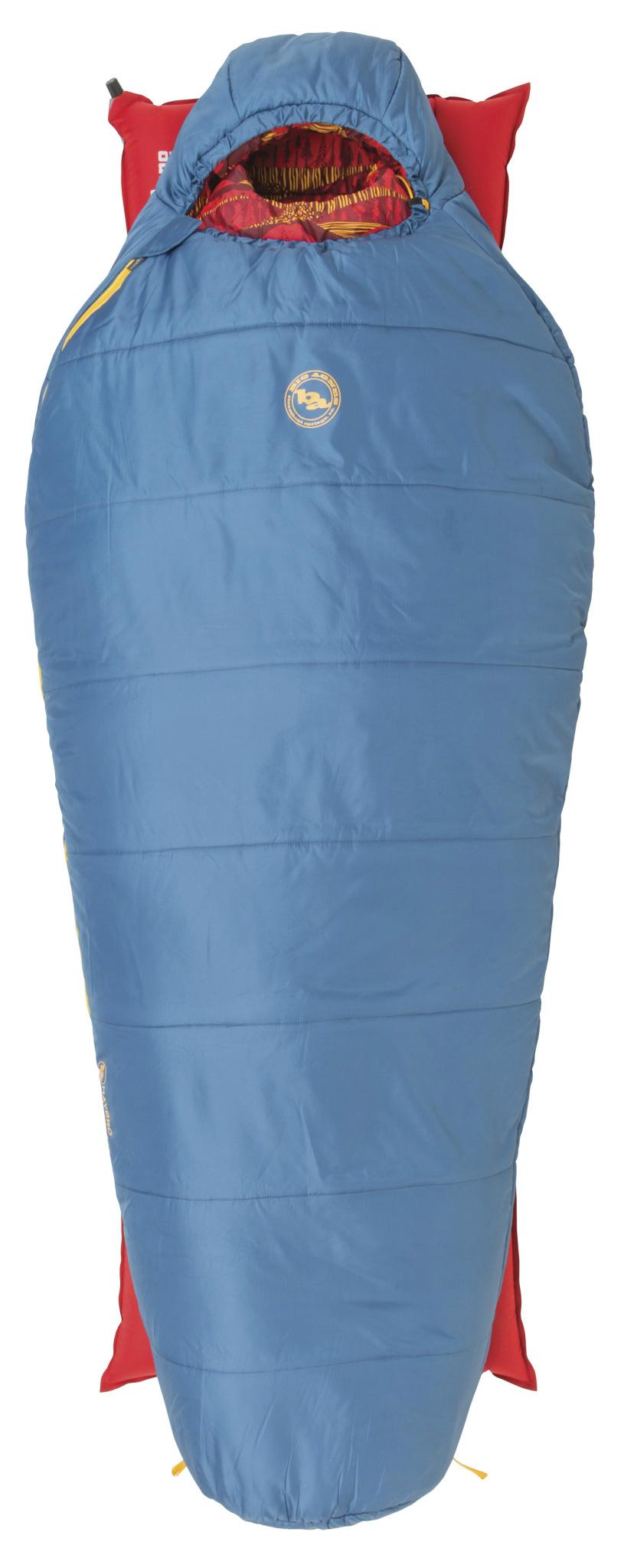 photo: Big Agnes Haybro 15 3-season synthetic sleeping bag