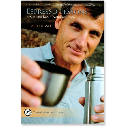photo: Desiderata Institute Espresso Lessons From The Rock Warrior's Way climbing book