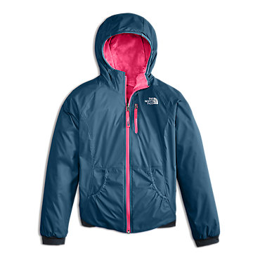 photo: The North Face Girls' Reversible Breezeway Wind Jacket fleece jacket