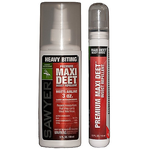 photo: Sawyer Premium Maxi DEET insect repellent