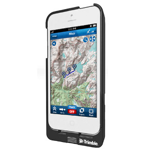 photo of a Trimble Outdoors navigation tool