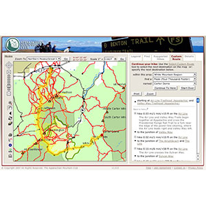 Appalachian Mountain Club White Mountain Guide Online