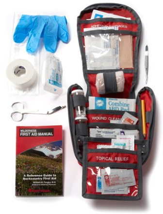 REI Backpacker Multiday First-Aid Kit