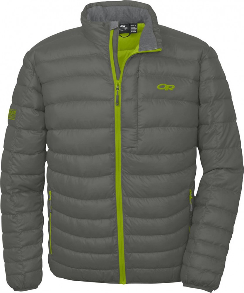 photo: Outdoor Research Transcendent Down Sweater down insulated jacket