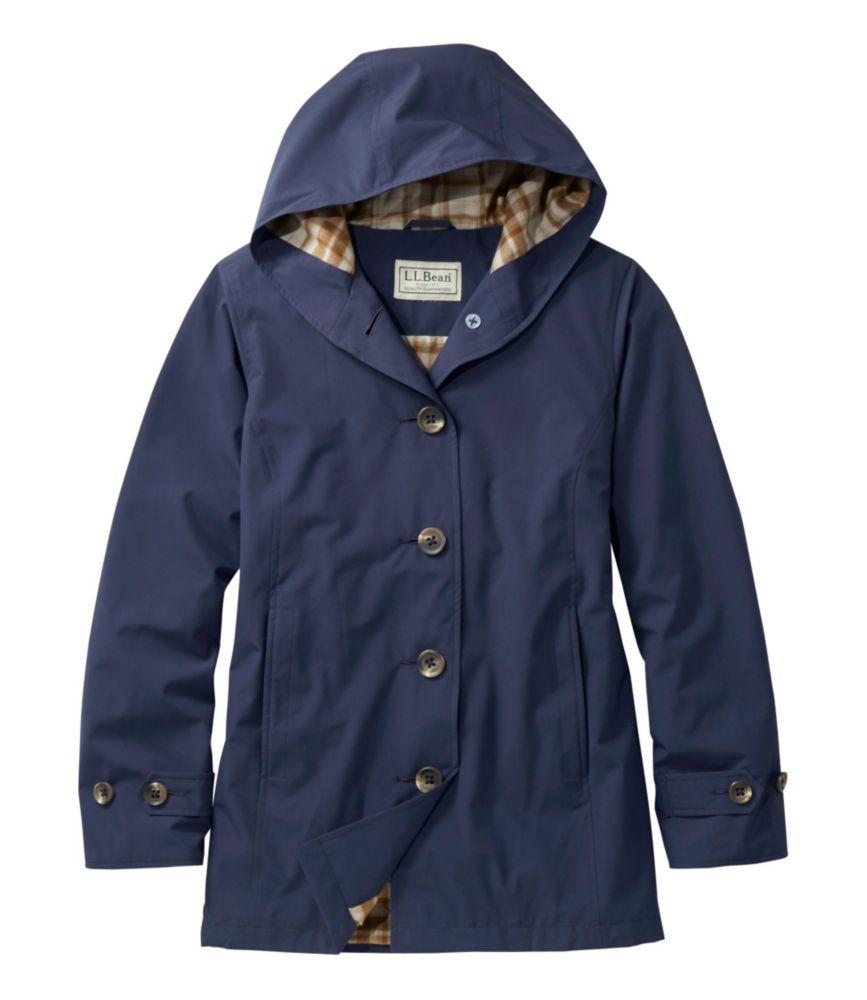 photo: L.L.Bean Bean's Easy-Care Mackintosh Coat waterproof jacket