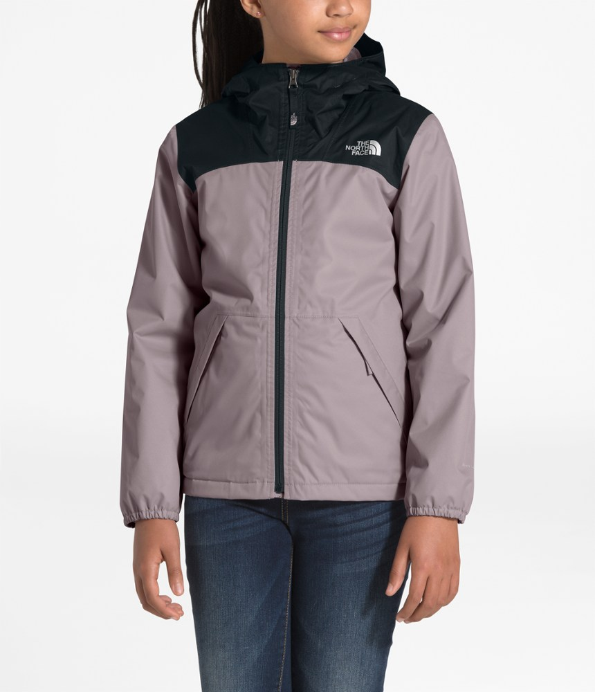 photo: The North Face Girls' Warm Storm Jacket waterproof jacket