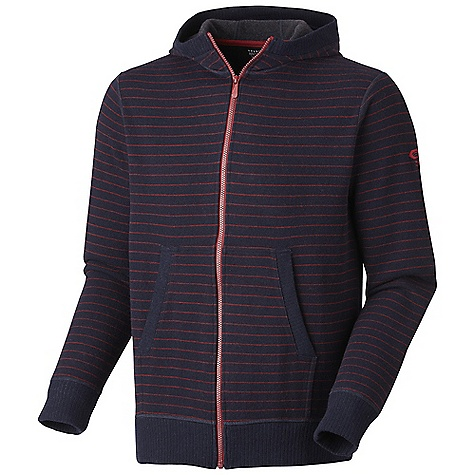 photo: Mountain Hardwear Melbu Stripe Hoody wool jacket