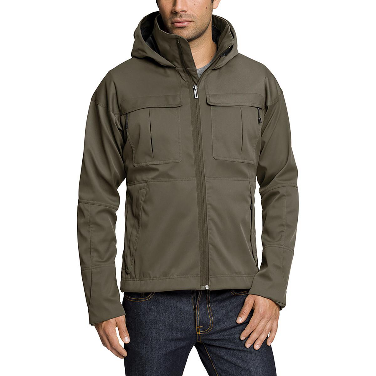 photo: Nau Shroud of Purrin Hoody soft shell jacket