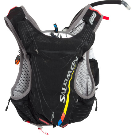 photo: Salomon XT Advanced Skin 5 SLab Set hydration pack