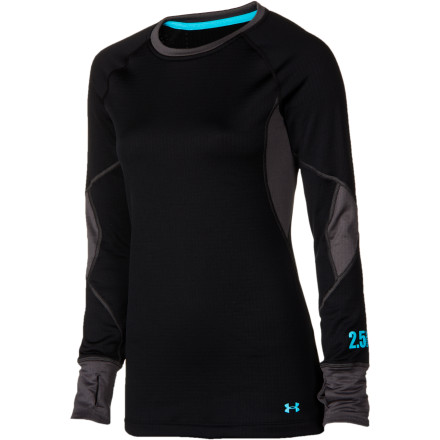 photo: Under Armour Women's Basemap 2.5 Crew long sleeve performance top