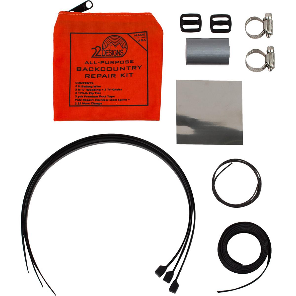 photo: TwentyTwo Designs Backcountry Repair Kit telemark accessory