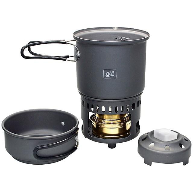 photo: Esbit Alcohol Stove & Trekking Cookset CS985HA alcohol stove