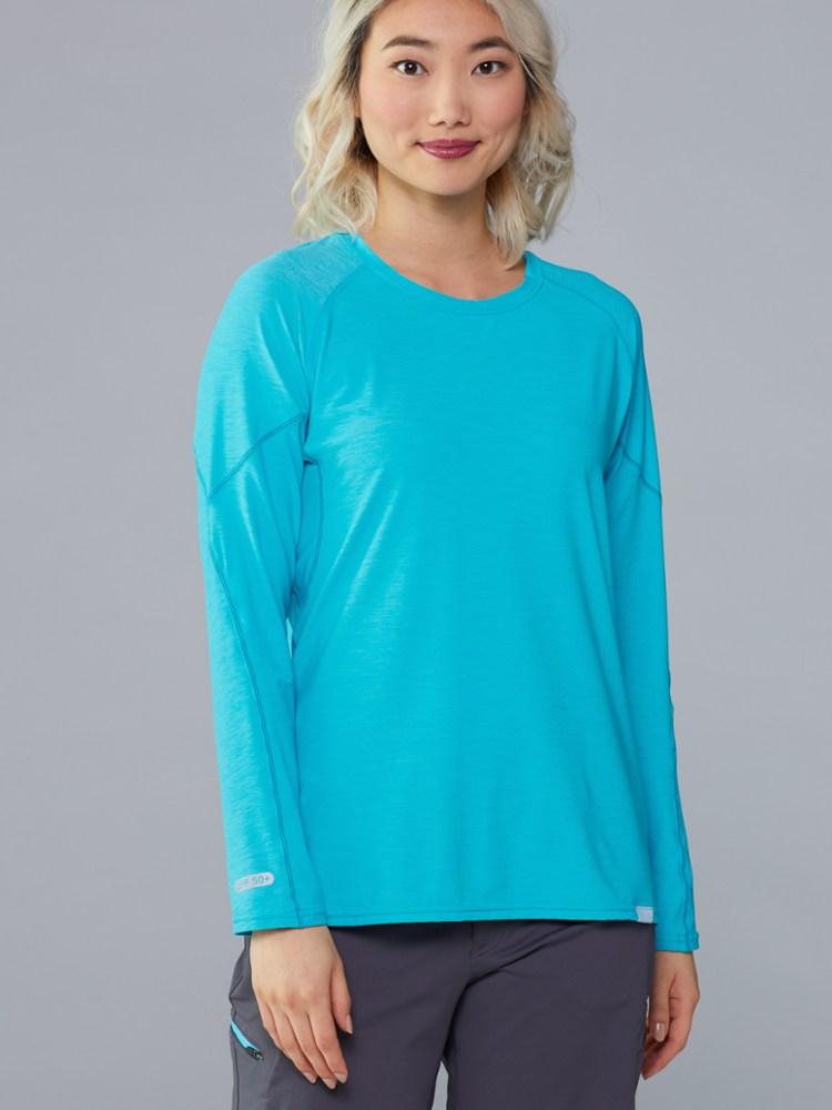 photo: NRS Women's H2Core Silkweight Long-Sleeve Shirt long sleeve paddling shirt