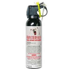 photo: SABRE Frontiersman Bear Spray bear spray