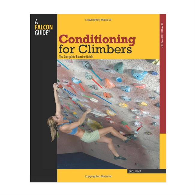 photo: Falcon Guides Conditioning for Climbers climbing book