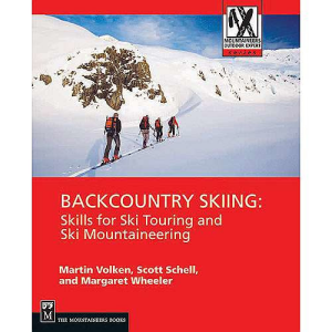 photo: The Mountaineers Books Backcountry Skiing: Skills for Ski Touring and Ski Mountaineering backcountry ski book