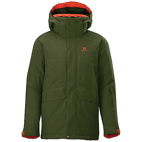 photo: Salomon Chillout Jacket synthetic insulated jacket