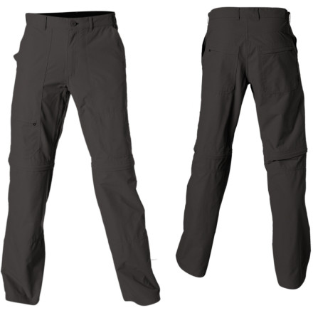 photo: Patagonia Borderless Trek Zip-Off Pants hiking pant