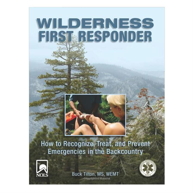 photo: Falcon Guides Wilderness First Responder first aid/safety/survival book