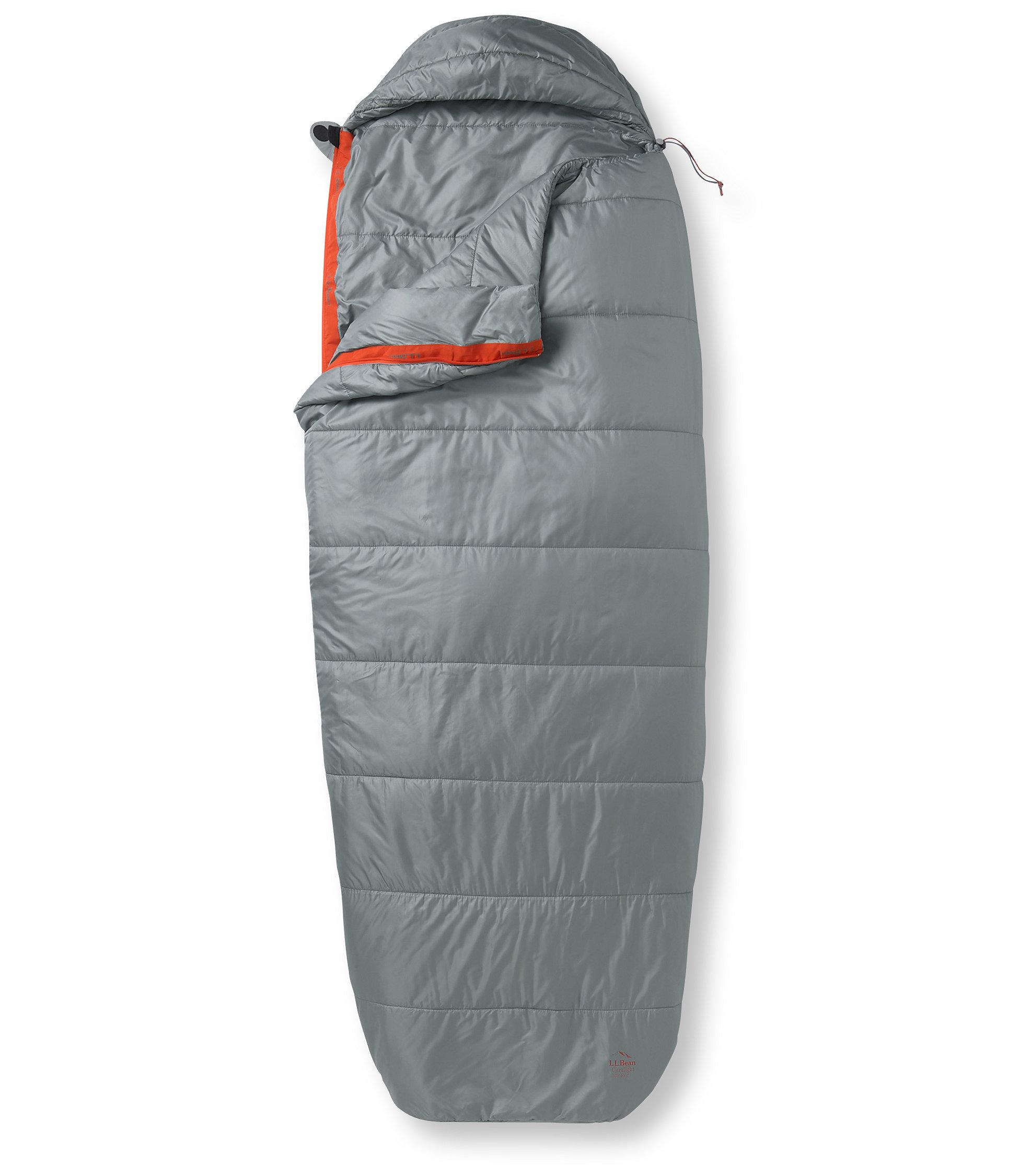 photo: L.L.Bean Ultralight Sleeping Bag 30F 3-season synthetic sleeping bag