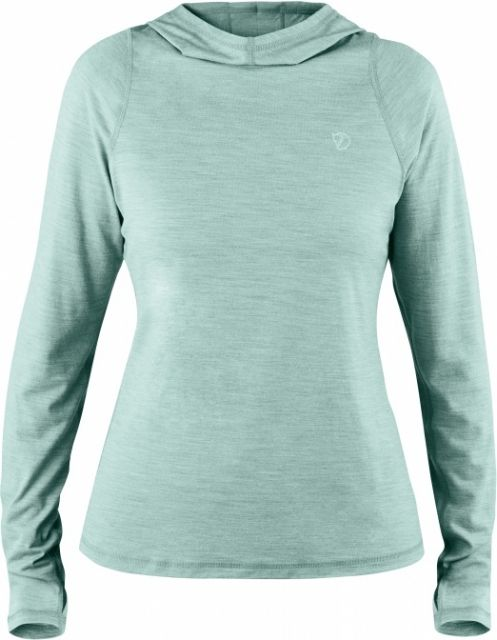 photo: Fjallraven Women's High Coast Lite Hoodie long sleeve performance top