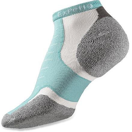 photo: Thorlo Experia Merino Wool/Silk - Thin Cushion Micro Mini-Crew running sock
